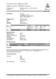 GUTACHTEN zur ABE Nr. 45622 nach §22 StVZO Anlage 5 zum ...