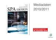 Spa Design Mediadaten 2011:Layout 1.qxd - BT Verlag GmbH