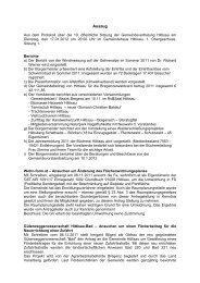 Protokoll vom 17.01.2012 - Hittisau