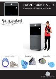 ProJet 3500_RealWax_German.indd - BIBUS Austria