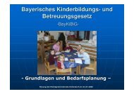 Bayerisches Kinderbildungs – Und ... - Markt Eichendorf
