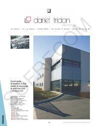 Daniel TRIDON - L'Architecture