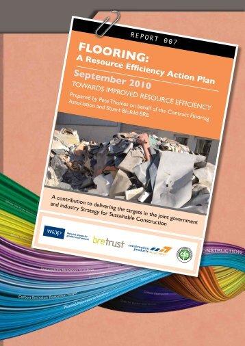 Flooring: Resource Efficiency Action Plan - Wrap