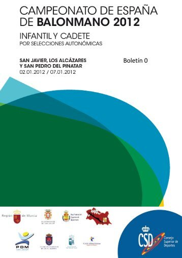 Boletín 0 - Comunidad Autónoma de la Región de Murcia