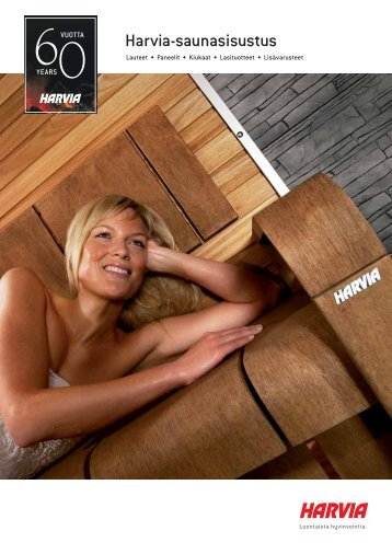 Harvia-saunasisustus - Puuinfo