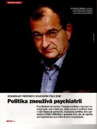 [s Cyrilem Höschlem vedli Marek Přibil a Lukáš Bek]. Týden 19/2012 ...