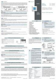 Bedienungsanleitung Quattro (pdf, 389 KB) - Friedrich-schroeder.de