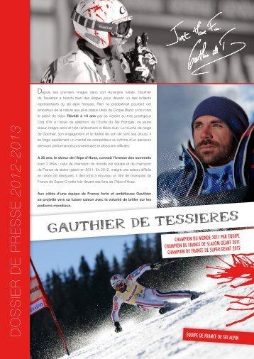 GAUTHIER DE TESSIERES - Alpe d'Huez