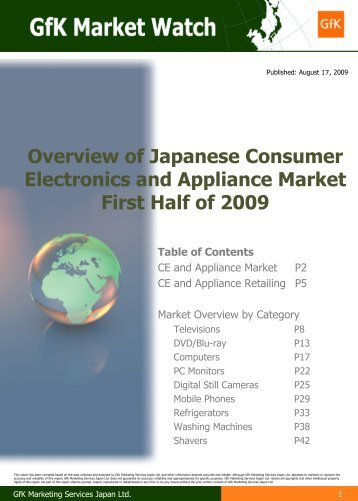 Overview of Consumer Electronics and ... - GfK Retail and Technology