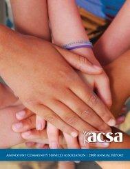 ACSA Annual Report 06.indd - Community Knowledge Centre