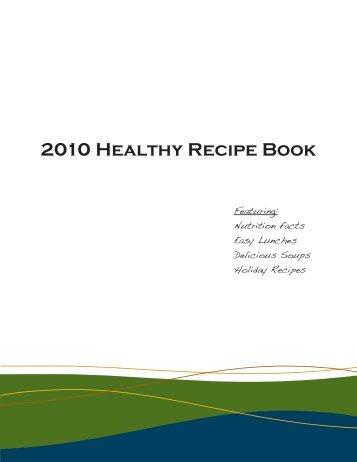 2010 Healthy Recipe Book