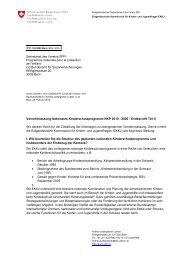 Endbericht Teil II - Eidgenössische Kommission für Kinder- und ...