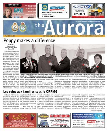 Oct 29 2012 - The Aurora Newspaper