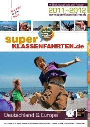 Katalog für superklassenfahrten.de - Welcome Berlin Tours