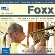 Foxx 19 - Folkwang Musikschule - Essen
