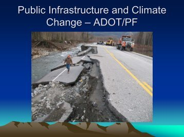 Public Infrastructure and Climate Change – ADOT/PF
