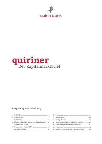 quiriner - quirin bank