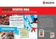 WÜRTH WinTeR BBQ - Würth Nederland
