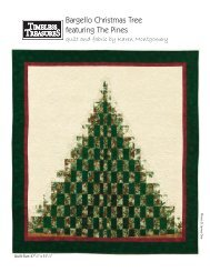 Bargello Christmas Tree featuring The Pines - Quilting Board