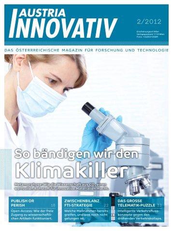 So bändigen wir den Klimakiller - Austria Innovativ