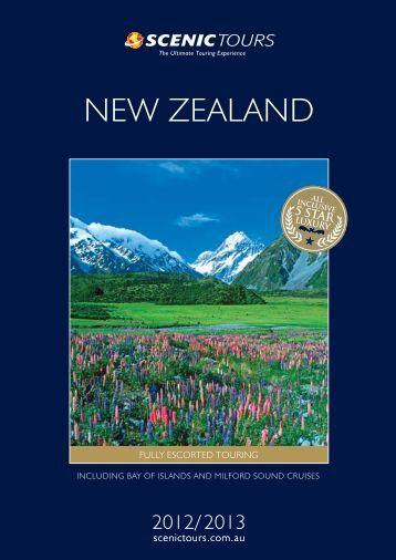 NEW ZEALAND - Scenic Tours