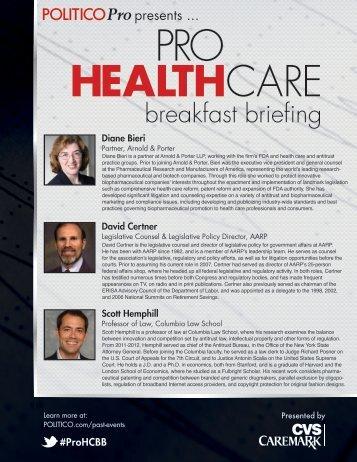 breakfast briefing - Politico