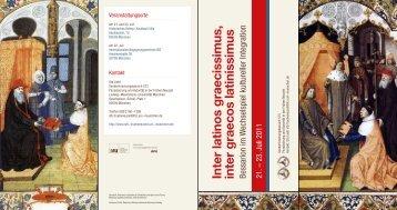 Leaflet - Ludwig-Maximilians-Universität München