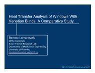 Heat Transfer Analysis of Windows With Venetian Blinds: A ...