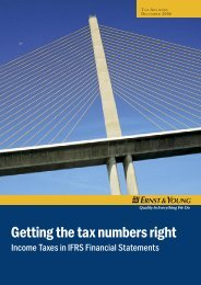 Getting the tax numbers right