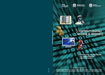 I contenuti digitali nell'era di internet - Interlex