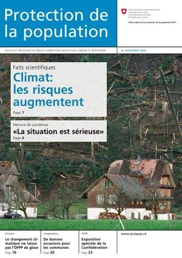 Climat: les risques augmentent - Planat
