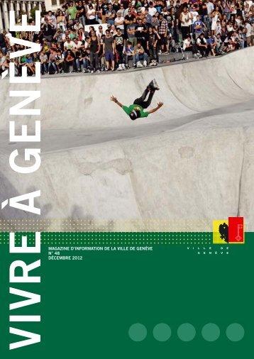 Magazine Vivre à Genève no 48 - Ville de Genève