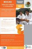 Becas de Excelencia, Servicio Social, Titulación y ... - UNPA - Page 2