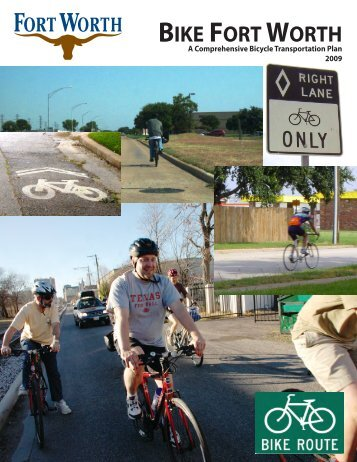 executive summary bike fort worth plan - City of Fort Worth