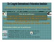 Item 1 - Centre de recherche sur l'intervention éducative (CRIE)