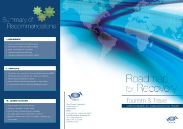 Roadmap - T.20 Initiative - World Tourism Organization