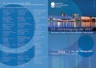 Vorprogramm - medizinische Kontinenzgesellschaft Österreich