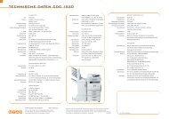 TECHNISCHE DATEN CDC 1520 - Utax