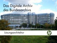 Das Digitale Archiv des Bundesarchivs - Staatsarchiv St.Gallen