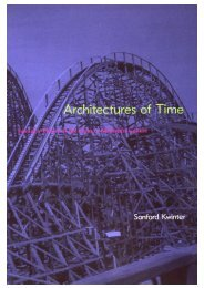 Architectures of Time Toward a Theory of the Event in Modernist ...