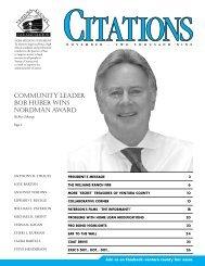 community leader bob huber wins nordman award - Ventura County ...