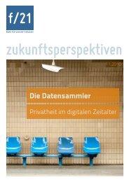 pdf, 190 KB - f/21 - Büro für Zukunftsfragen