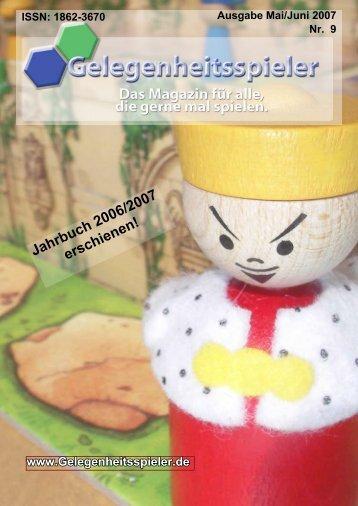 Jahrbuch 2006/2007 erschienen! - d-nb, Archivserver DEPOSIT.D ...