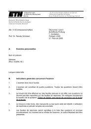 Abt. VI (Forstwissenschaften) Prof. Dr. Renate Schubert Ökonomie I ...