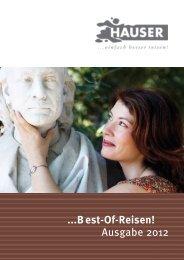 ...Best-Of-Reisen! Ausgabe 2012 - HAUSER