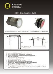 Datenblatt SL 30 Deutsch - LED
