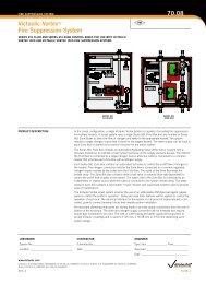 Victaulic VortextM Fire suppression system 70.08