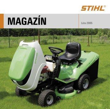 více o zahradních traktorech - Gardenia.cz