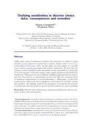 Outlying sensitivities in discrete choice data: consequences and ...