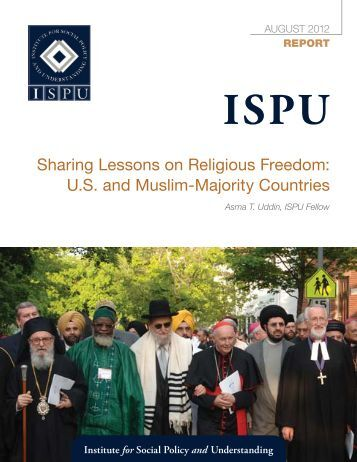 Sharing Lessons on Religious Freedom - Institute for Social Policy ...